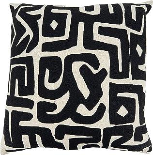 Kuba ClothKuba cloth cushion coverKuba cloth pillowAfrican Kuba clothraffia clothDR 20x20 KC456 Congoauthenticappliques 50x50cm