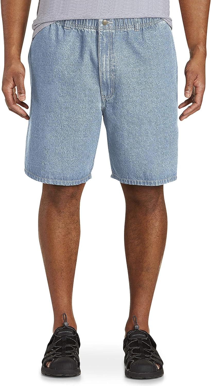 Harbor Bay by DXL Big and Tall Denim Shorts