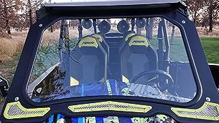 Polaris RZR XP 1000, 2015+ RZR 900 Full DOT Glass Winshield by Inner Demon Motorsports (Black)
