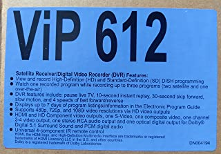 Dish Network ViP612 HD-DVR Single Room Dual Tuner Satellite TV Receiver ViP 612