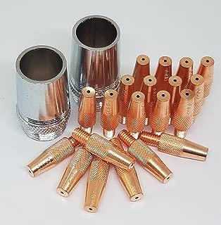 Kit 22pcs Trafimet MD0236-09 (186406) MC0498 (186405) Contact tip .035