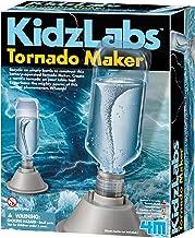 4M KidzLabs Tornado Maker Science Kit, DIY Weather Cyclone, Typhoon, Hurricane Weather - STEM Toys Educational Gift for Kids & Teens, Girls & Boys