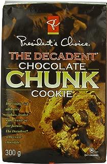 President's Choice the Decadent Chocolate Cookie, Chunk, 12.35 Ounce