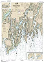Paradise Cay Publications NOAA Chart 13293: Damariscotta: Sheepscot and Kennebec Rivers; South Bristol Harbor; Christmas Cove, 34.6 X 48.1, TRADITIONAL PAPER