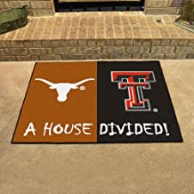 Fanmats Texas - Texas Tech House Divided Mat