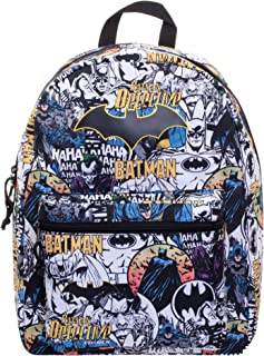 Batman Comic Print Backpack