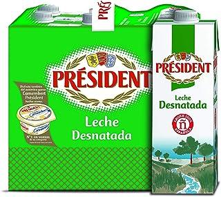President Leche Desnatada - 6 x 1 L