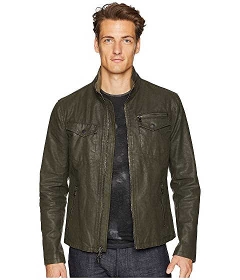 John Varvatos Collection Zip Front Closure Jacket O1703U2 Olive Leaf Outlet Very Cheap Outlet Release Dates Buy Cheap With Paypal Cheap Get Authentic Cheap Sale Low Shipping Fee kd72KCzKaJ