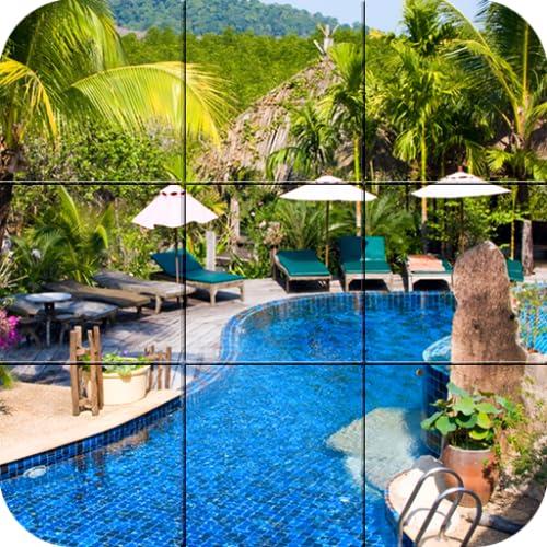 Swimming pools - Puzzle