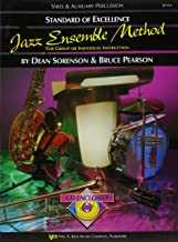 W31A - Standard of Excellence Jazz Ensemble Method: Vibes and Auxiliary Percussion
