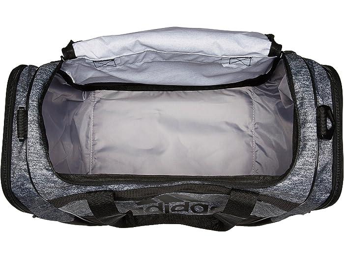Adidas Defender Iii Small Duffel Onix Jersey/black Duffle Bags