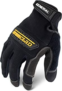 Ironclad General Utility Work Gloves GUG, All-Purpose, Performance Fit, Durable, Machine..