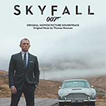 SKYFALL Soundtrack - LIMITED Black and Gold