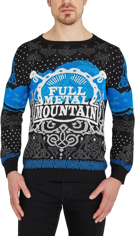 W  O  A Men's Full Metal Mountain Knit Jumper