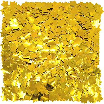 1 P D6S8 Just Married Wedding Metallic Table Confetti Sprinkles All Colours