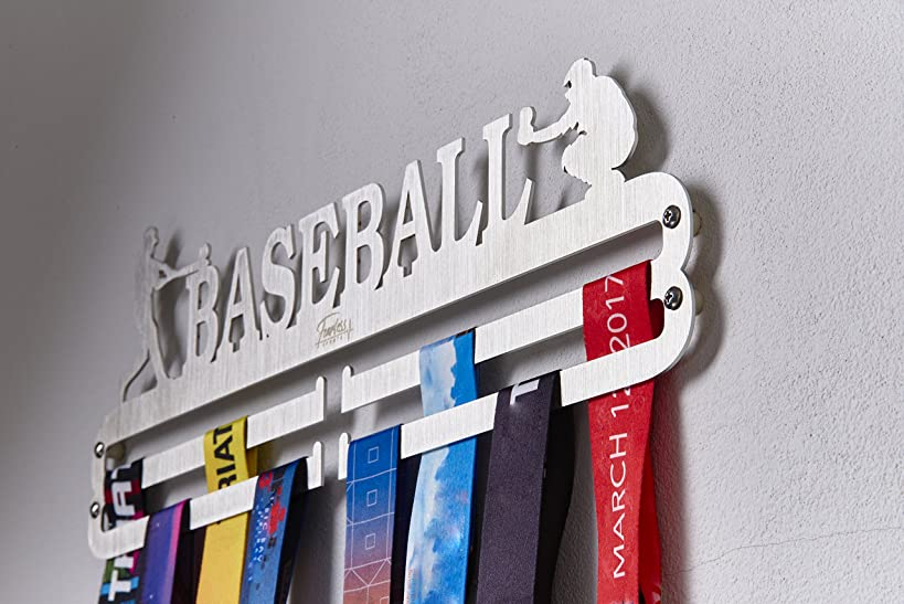 Fearless Sports Over 43 Sports Styles Plus Custom Made Medal Hanger Medal Holder for Runners and Every Sports Activity.