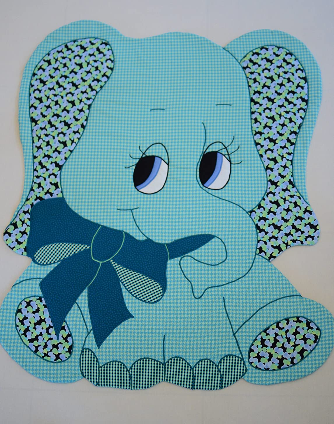 ELEPHANT - Kiddie Komfies - Sewing Quilt Pattern - 49 1/2