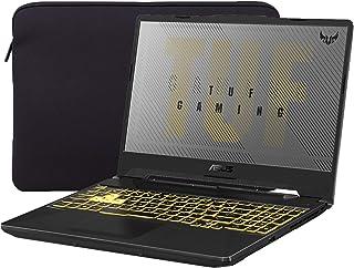 """ASUS ゲーミングノートパソコン TUF VR対応 ラップトップ 15.6"""" IPS FHD AMD Ryzen 7-4800H 8コア最大4.20 GHz NVIDIA RTX 2060 24GB RAM 512GB SSD+1TB HDD RGB バックライトキーボード RJ-45 Win 10 (Mytrix スリーブ 付き)"""