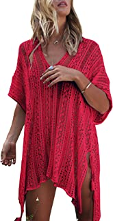 Best red swimsuit coverup Reviews