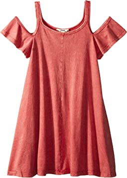 d501e992214 6. Maddie by Maddie Ziegler. Knit Strappy Dress with Ruffle Sleeve (Big Kids).   19.99MSRP   38.00