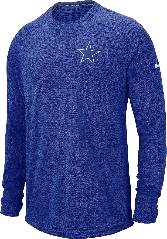 Dallas Cowboys Columbus Mall free Men's Nike Long Top Sleeve Stadium