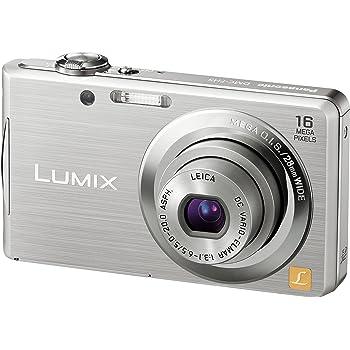 パナソニック デジタルカメラ LUMIX FH5 シルバー DMC-FH5-S
