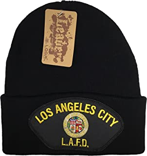City of Los Angeles Fire Department LAFD Beanie Black
