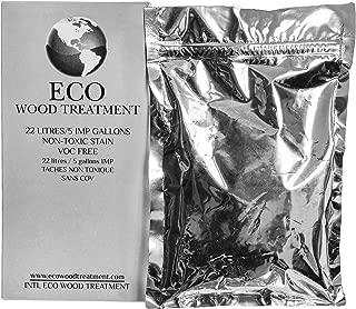 Eco Wood Treatment EWT5 5 US Gallon, Long Lasting, Silvery Patina   Semi-Transparent (1 Pack)