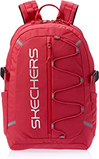 Skechers S542 Santa Monica 2 Section Backpack, Red, 44 Centimeters