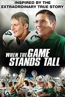 when the game stands tall real players