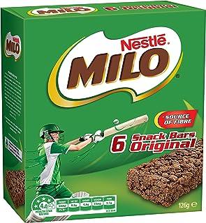MILO Energy Snack Bar Original, 21g (Pack of 6)