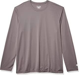 Champion Men's Long-Sleeve Double-Dry Performance T-Shirt