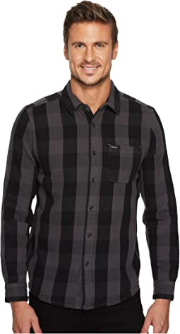 Volcom - B-Side Long Sleeve Flannel