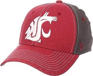 Zephyr Adult Men Dusk NCAA hat, Team Color/Dark Grey, X-Large