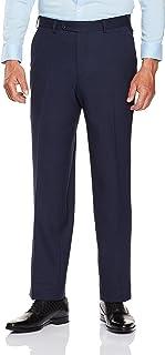 Van Heusen Men's Classic Fit Birdseye Suit Pants