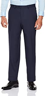 Van Heusen Men's Classic Fit Birdseye Suit Pants