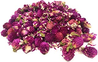 Globe Amaranth Buds & Sprinkles - Perfect for adding that special twist to salads, pastry and fine food | Net weight: 0.52oz / 15g