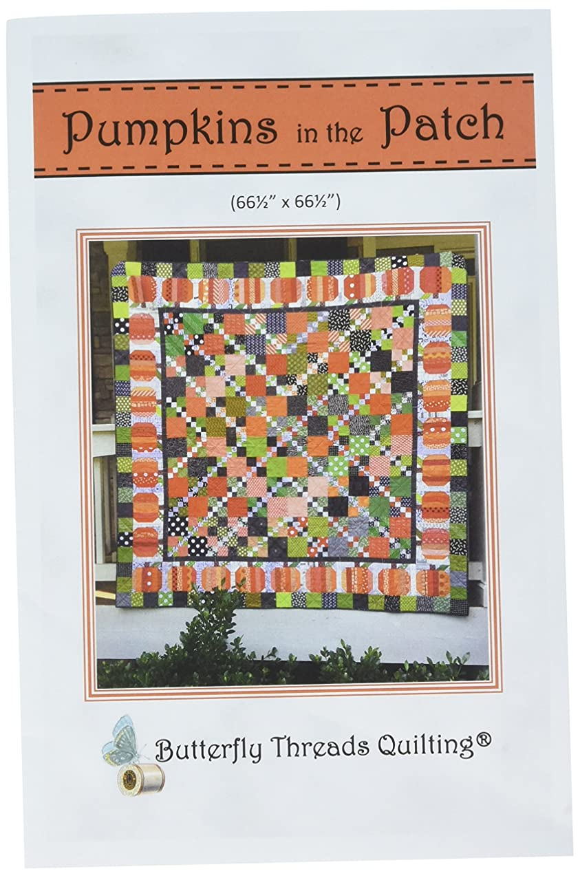 Butterfly Threads Quilting BTQ0582 Pumpkins in The Patch Pattern nqnwealgnqwov656