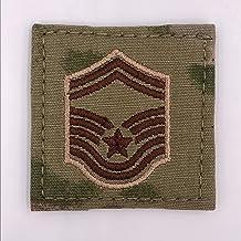 USAF Scorpion OCP Enlisted Rank (E-8 Senior Master Sergeant)