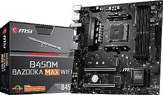 MSI Arsenal Gaming AMD Ryzen 1st, 2nd, and 3rd Gen AM4 M.2 USB 3.2 DDR4 HDMI WiFi Micro-ATX Motherboard (B450M Bazooka MAX...