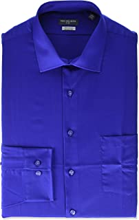 Van Heusen Men's Dress Shirt Regular Fit Flex Collar Solid
