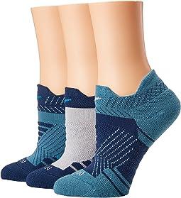 Dry Cushioned Mesh Low Training Socks 3-Pair Pack