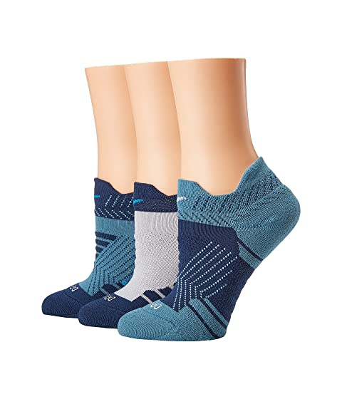 Dry Cushioned Mesh Low Training Socks 3-Pair Pack, Multicolor 2