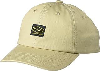 قبعة RVCA للأولاد من نسيج قطني مضلع