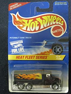 Hot Wheels Peterbilt Tank Truck - Heat Fleet Series #3 of 4 Vehicles Collector#539