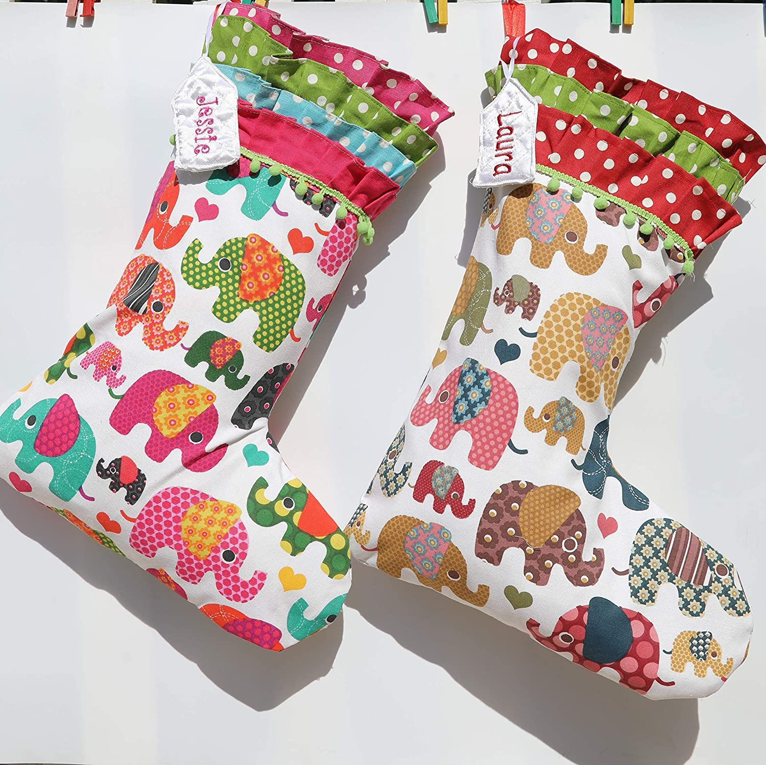 Elephant Christmas Stocking Baby's Christm Our shop OFFers the best service We OFFer at cheap prices First Kid's