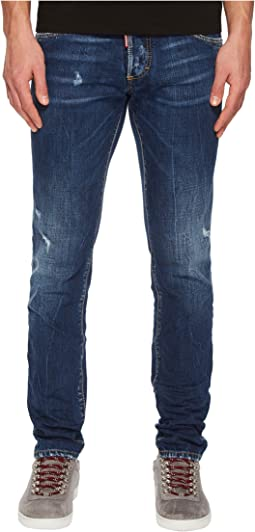 DSQUARED2 - Dark Semplice Wash Slim Jeans