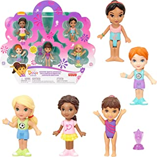 Dora And Friends Summer Sports Adventure Figure Pack, Play Set - Set of 5 Sports Figures