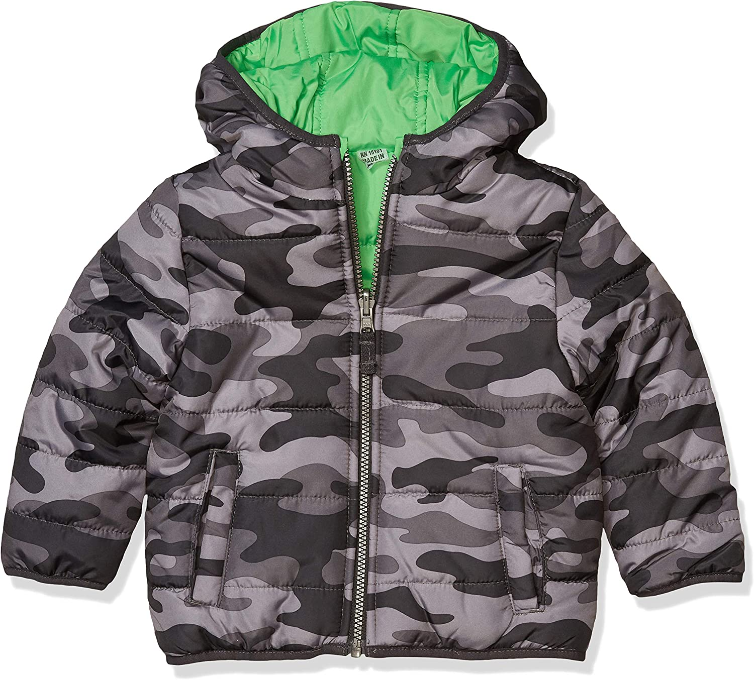 Year-end gift Carter's shopping Baby Boys Bubble Jacket Reversible