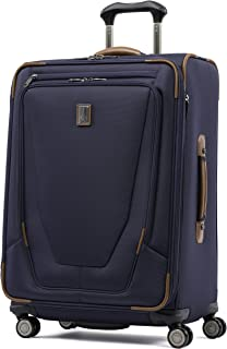 "Travelpro Luggage Crew 11 25"" Expandable Spinner Suitcase w/Suiter, Patriot Blue"